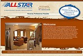 Click here to view All Star Construction Rapid City SD Web Design