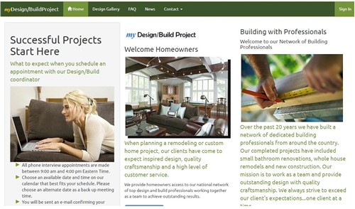 myDesign/Build Project myWebSuite CMS