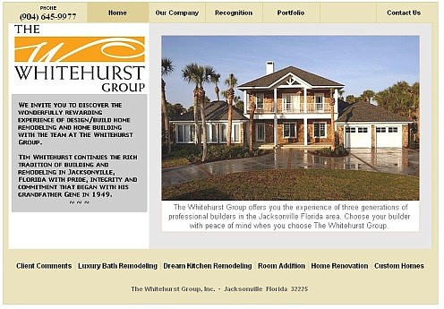 Whitehurst Group Design/Build Remodeling Jacksonville FL